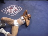 Dangerous Divas_ Crystal White vs. Talia Madison - Female Wrestling with Crystal Carmichael