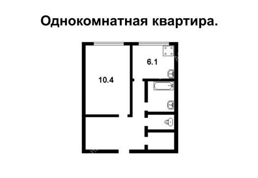 Сдам уютную светлую 1-квартиру