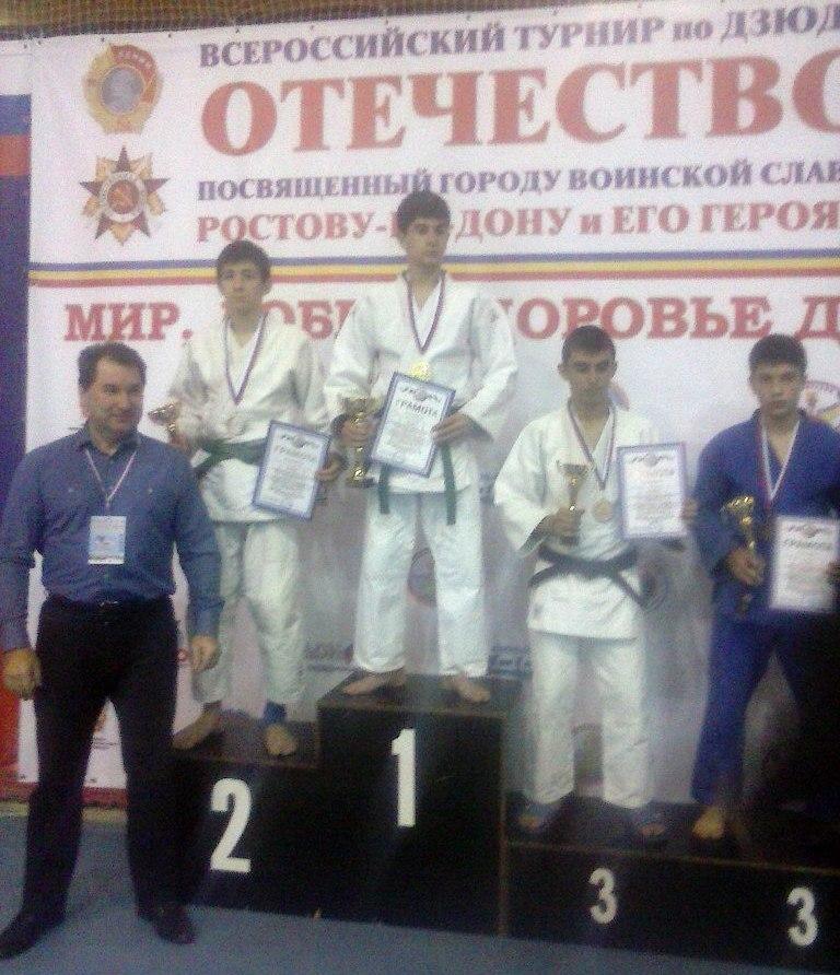 Таганрожцы привезли серебро и бронзу с соревнований по дзюдо в Ростове