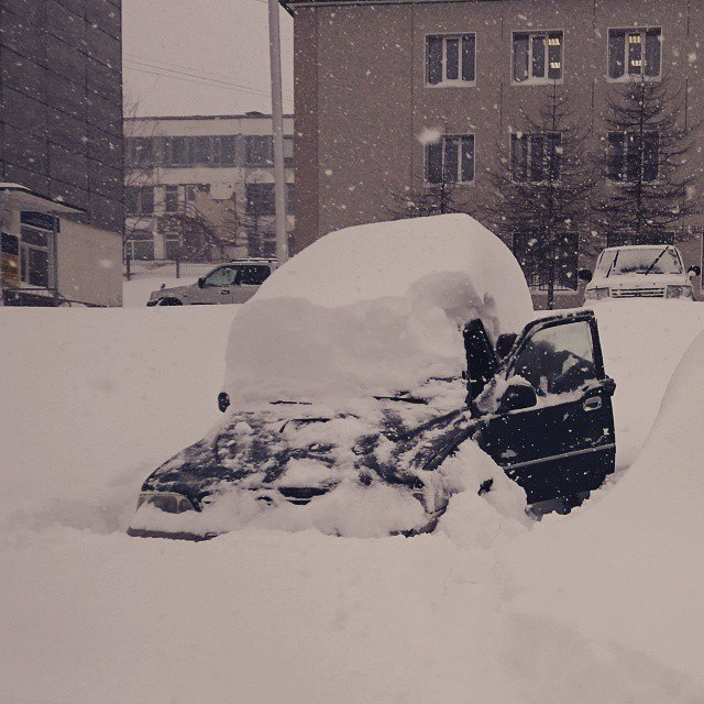 В Магадан пришла зима! Фотки от моих друзей))