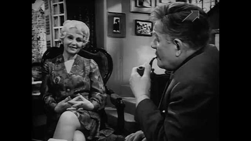 Фильм спектакль Мегрэ и старая дама 1 часть 1974 г