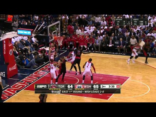 [HD] Toronto Raptors vs Washington Wizards | Full Highlights | Game 3 | Apr 24, 2015 | NBA Playoffs