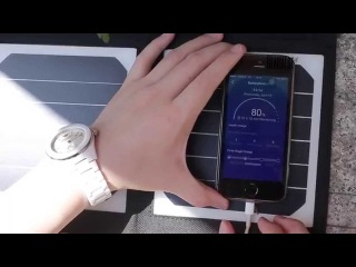 14W Dual USB Output Solar Charger from GearBest.com