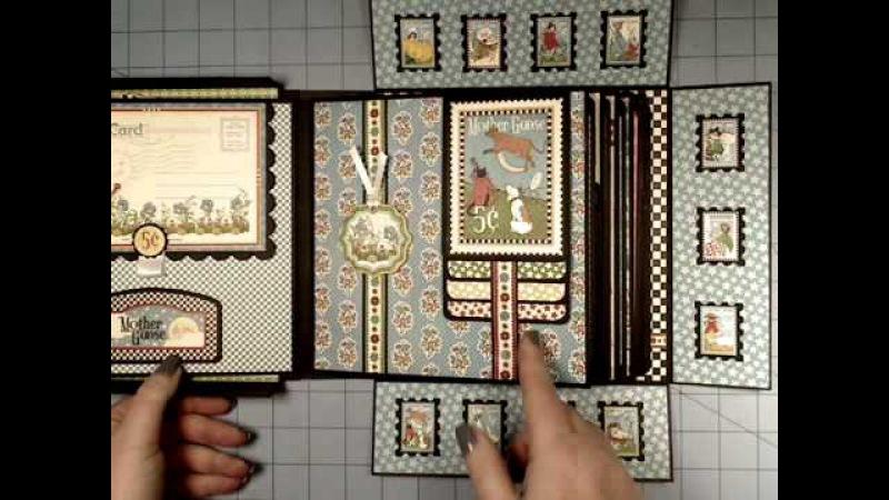 G45 Mother Goose 8x8 Boxed Mini Album with platform