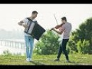 Hozier - Take me to church violin and accordion cover version MODERN FLY instrumental acoustic music