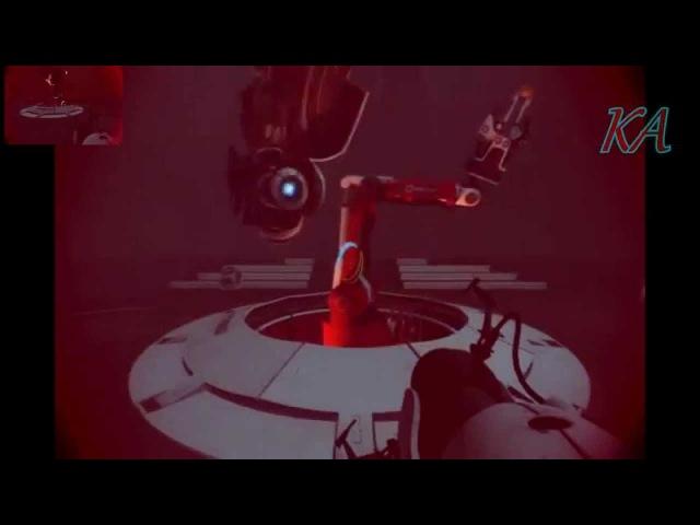 Portal 2 Wheatley IM NOT A MORON sparta Utimate Black Hole remix
