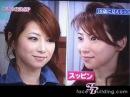 Японская модель Масако Мизутани на ТВ шоу