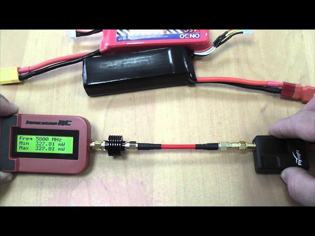 Тест видеопередатчика Flysight TX5807