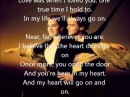 MY HEART WILL GO ON LETRA TITANIC