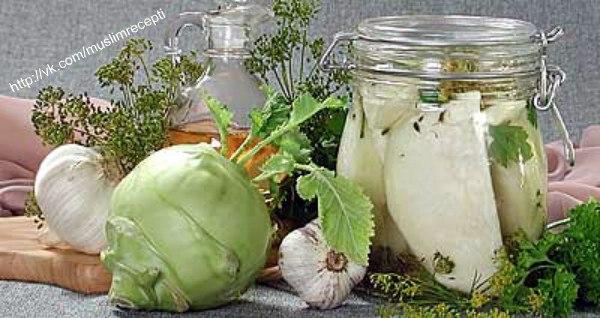 Кольраби рецепты приготовления на зиму