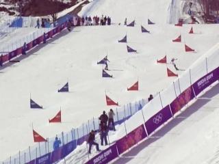 Параллельный слалом по сноуборду.... Сочи 2014