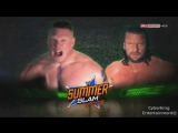 Brock Lesnar vs Triple H - WWE Championship - Summerslam 2015