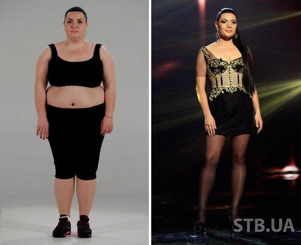 как похудели взвешенные