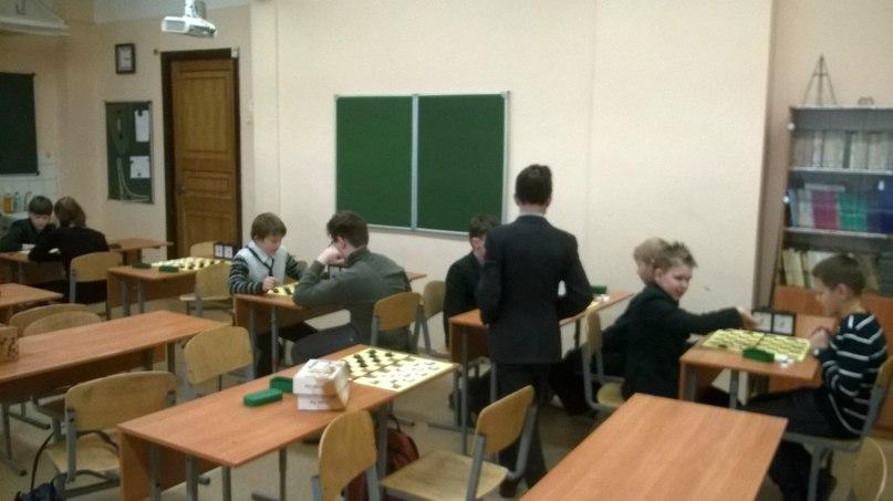 Секция шашек. Турнир по шашкам в школе №292.