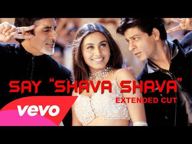 K3G Say Shava Shava Video Amitabh Bachchan Shah Rukh Khan