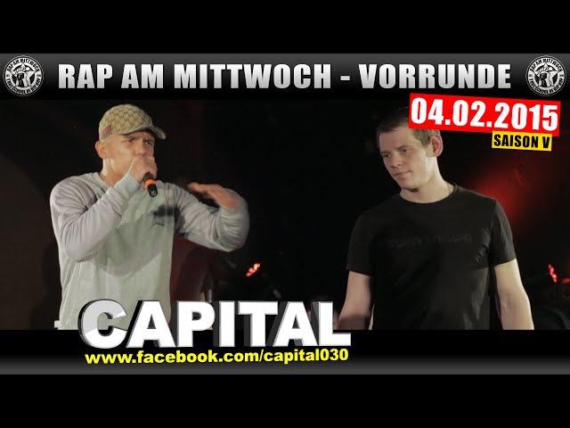 RAP AM MITTWOCH 04 02 15 BattleMania Vorrunde 2 4 GERMAN BATTLE
