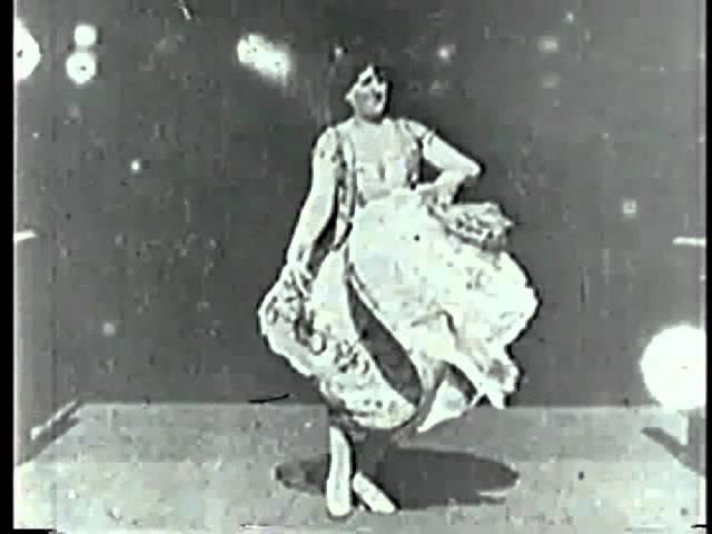 Carmencita 1894 1st Female Star in a Movie William K L Dickson Thomas Edison