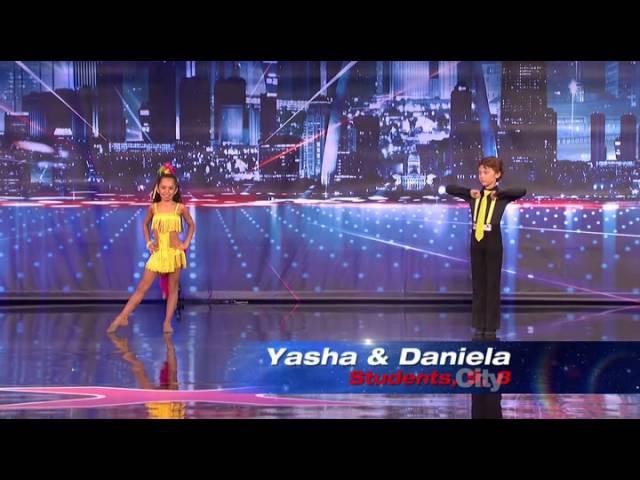 Yasha and Daniela - America's Got Talent 2013 Season 8 Week 6 Auditions