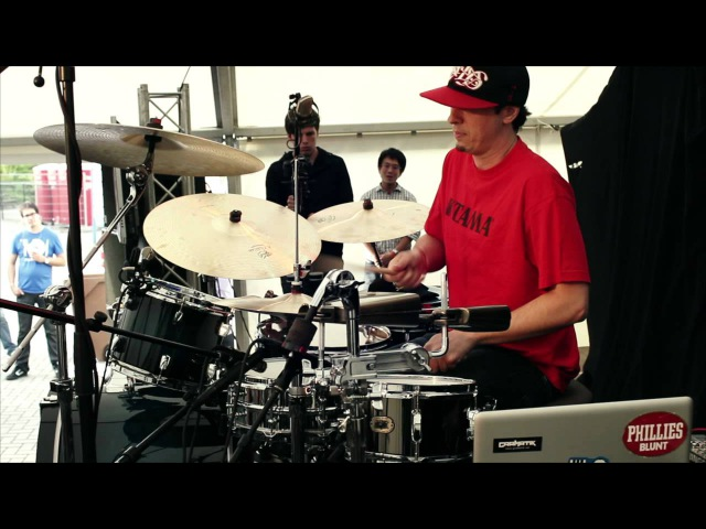 Adam Deitch - D-DAY - Drummers Meeting Meppel 2012