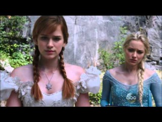 Once Upon a Time 4x01: Anna and Elsa visit Papa Troll