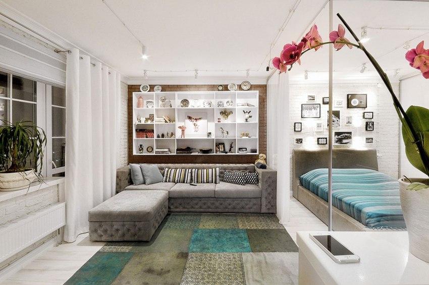 Дизайн интерьера квартиры 55 м в Перми.