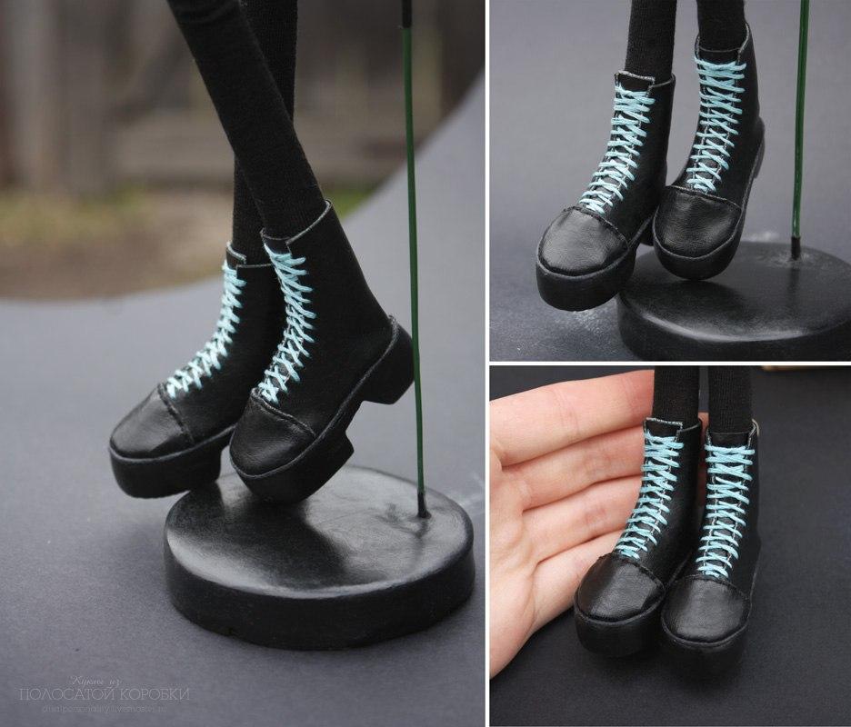 ботинки для тильды