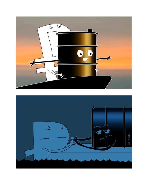 Не смогут нас пиндосы долго нагибать - Цена на нефть на матушку поднимется опять