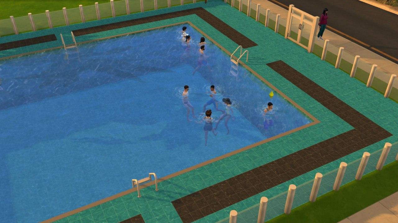 Новый тип участка «Общественный бассейн»