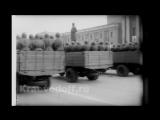 Парад 7 ноября 1941 года в Куйбышеве, посвящённый 24-ой годовщине Октябрьской революции.