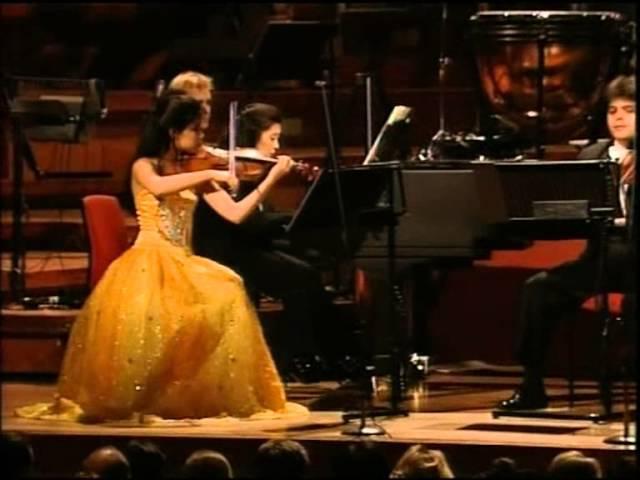 Vanessa Mae at the Birmingham Symphony Hall 1997 Classical Violinist