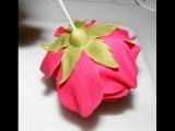 Как сделать розу из сахарной мастики
