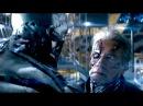 Terminator Genisys | Pops vs T-3000 Fight (Uninterrupted) | Arnold Schwarzenegger