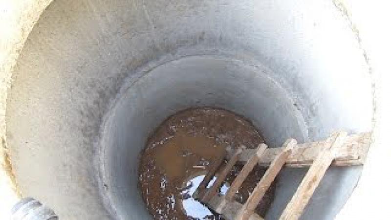 Выгребная яма в своём доме Все этапы строительства своими руками