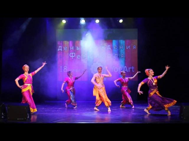 Apsara Indian semiclassical dance Mangalam Ganesham