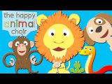 The Happy Animal Choir   Animal sounds song   Toddler Fun Learning