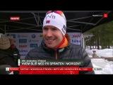 Эмиль Хегле Свендсен раскритиковал состояние и работу трассы в Контиолахти - Чемпионат мира 2015