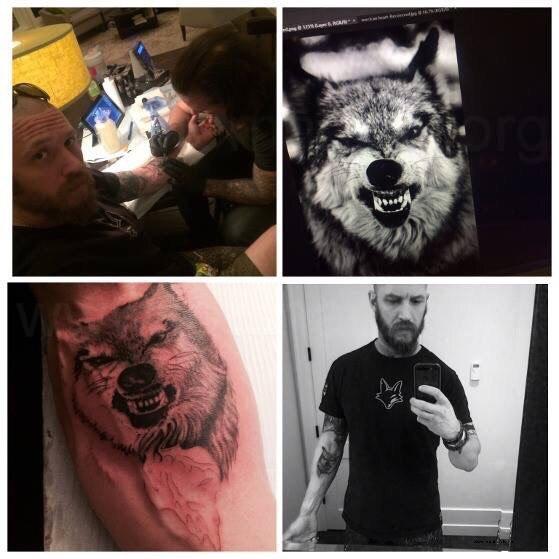 что означает волк на руке