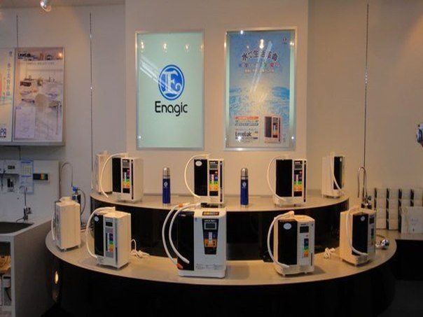 Магазин японских ионизаторов №1 в мире – Enagic