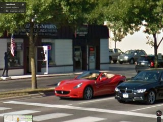 Google Maps Street View Supercars Vk