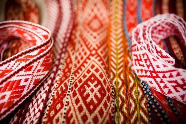 схемы для ткачества поясов