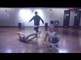 [SNS] ToppDogg's how to warm-up! (BGM - Dumb Dumb / Red Velvet)