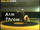 Wrestling Moves Arm Throw