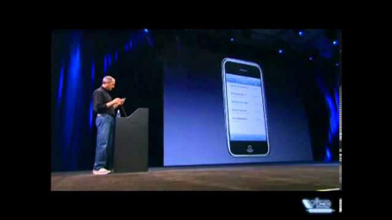 Стив Джобс презентация первого Apple Iphone!Видео на русском языке, 2007 » Freewka.com - Смотреть онлайн в хорощем качестве