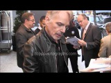 Billy Bob Thornton - Signing Autographs at  NYC hotel