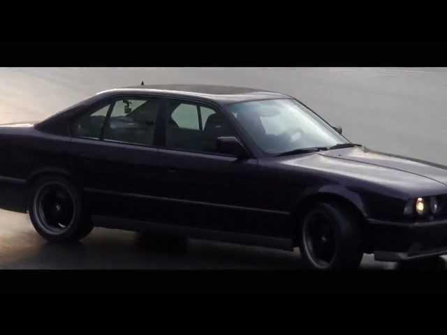 Адский гонщик из Тбилиси на BMW M5