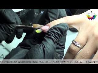 Пошаговая глубокая коррекция ногтей. Мастер класс по маникюру от Евгении Исай
