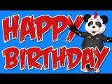 Panda Party - Happy Birthday (featuring Phil Campbell of Motorhead) Nursery Rhymes & Fun Kids Songs
