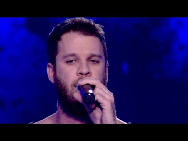Άκης Παναγιωτίδης - Skyfall | The Voice of Greece - The Blind Auditions (S02E01)