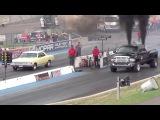 Драг Рейсинг Додж Рам и Шевроле Щевиль Drag Race Fast Dodge Ram vs Chevrolet Chevelle