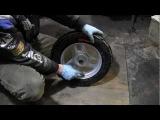 СВОИМИ РУКАМИ: Бортировка колеса, мотороллера, скутера